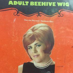 Adult beehive wig
